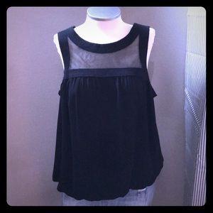 🆕 listing! Bubble hem sheer top blouse